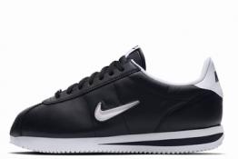Nike Cortez Classic de piel Negras