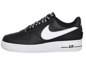 nouvelle arrivee 98a05 c337b Nike Air Force Low Negras