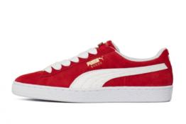 Puma Suede Rojas y Blancas