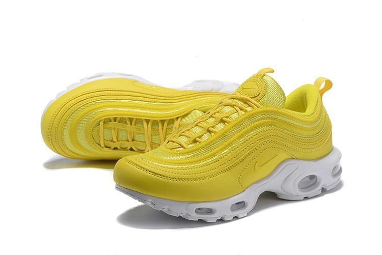 yellow nike air max 97
