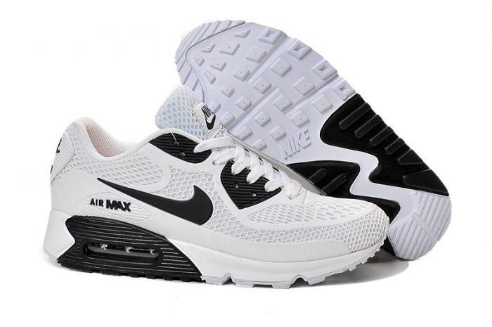 nike air max blancas y negras