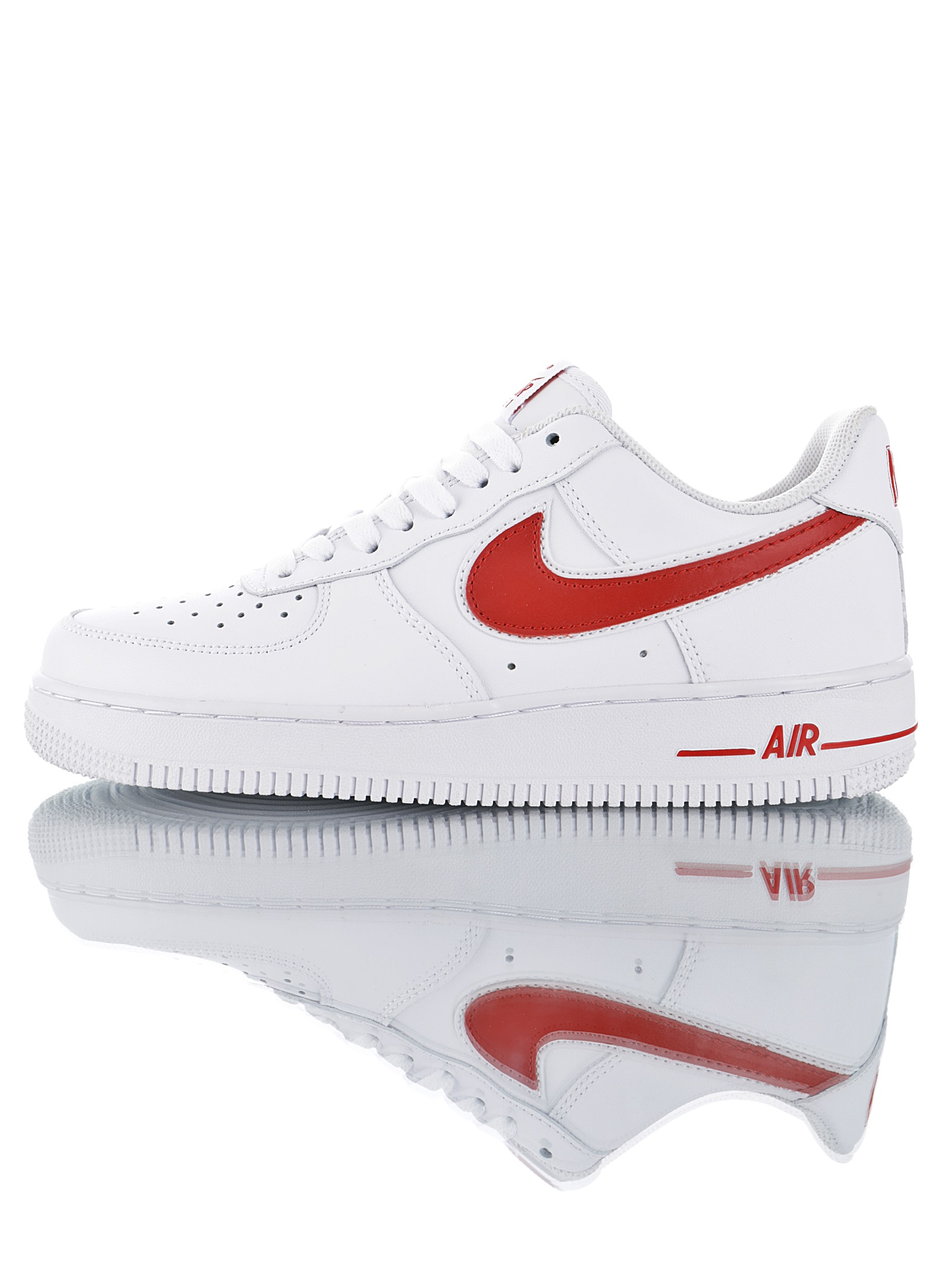 Nike Air Force 07´ Blancas Logo Rojo