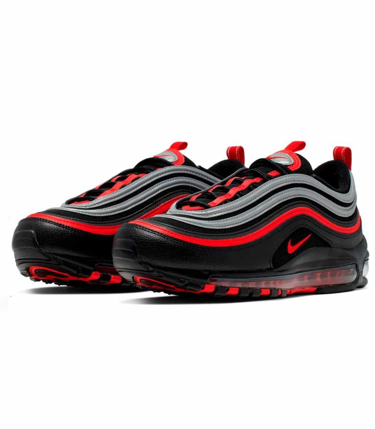 nike air max 97 negras y rojas