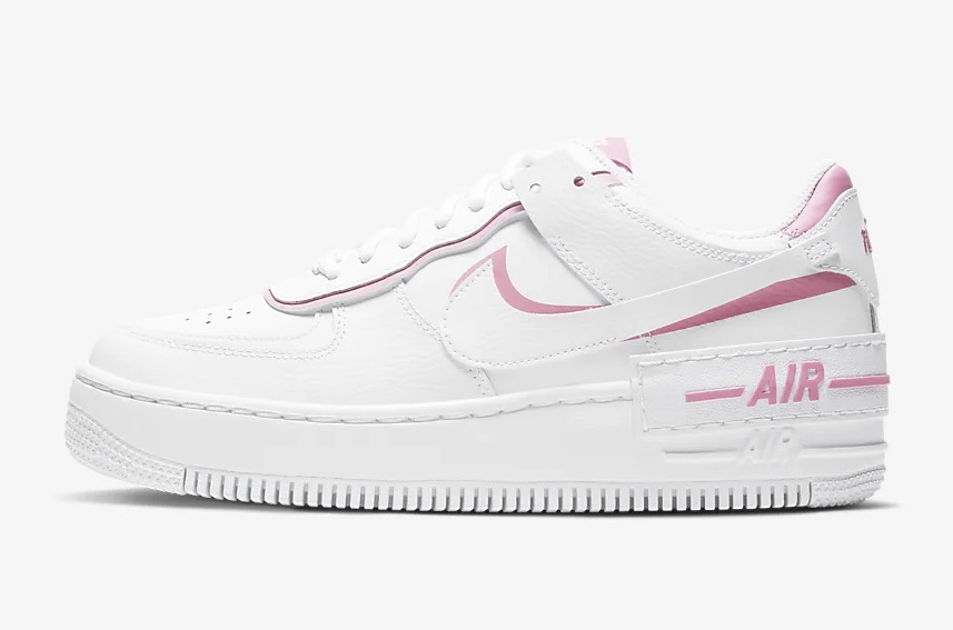 Nike Air Force Shadow White Pink